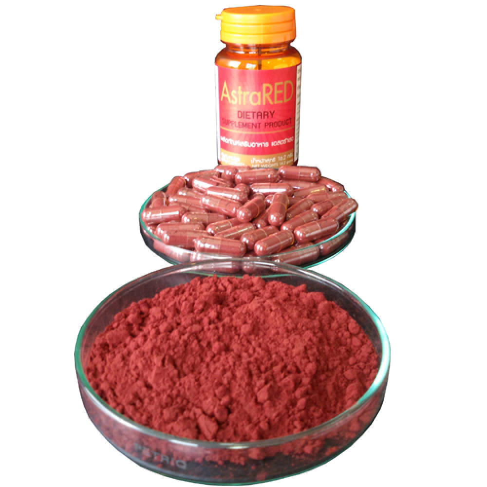 แอสตร้าเรด (AstraRed) ผลิตภัณฑ์เสริมอาหารจากสาหร่ายแดง