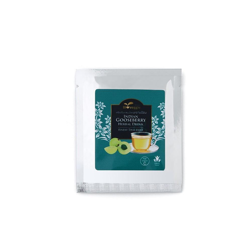 BioVeggie เครื่องดื่มชาสมุนไพร ชนิดชงสูตรมะขามป้อม